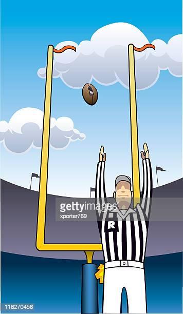 Referee & Goal Posts