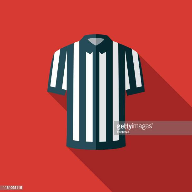 referee jersey american football icon - referee stock illustrations