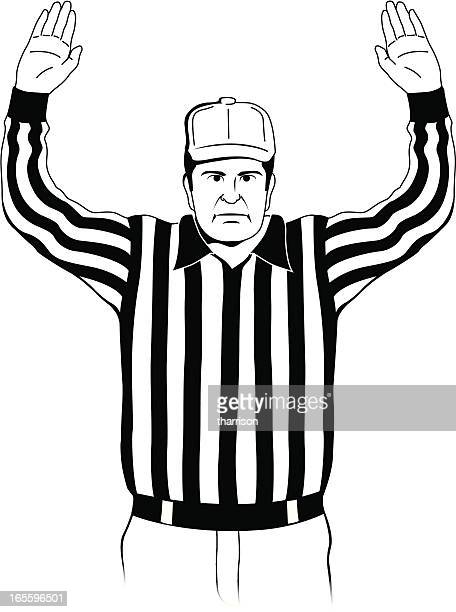 Referee Touchdown Signal