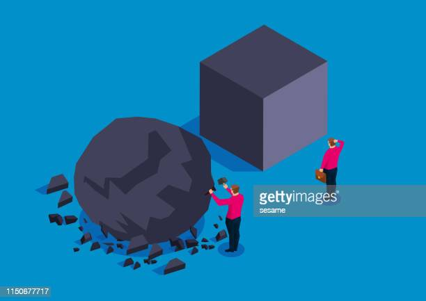 reform and innovation - artists equity ball stock illustrations