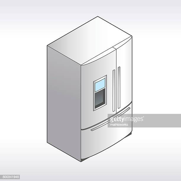 Refrigerator Illustration