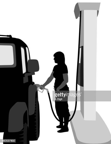 Refueling The Vehicle