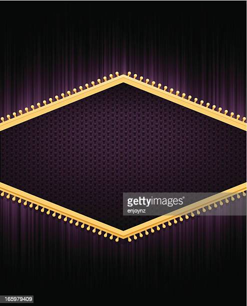 regal purple background - cabaret stock illustrations