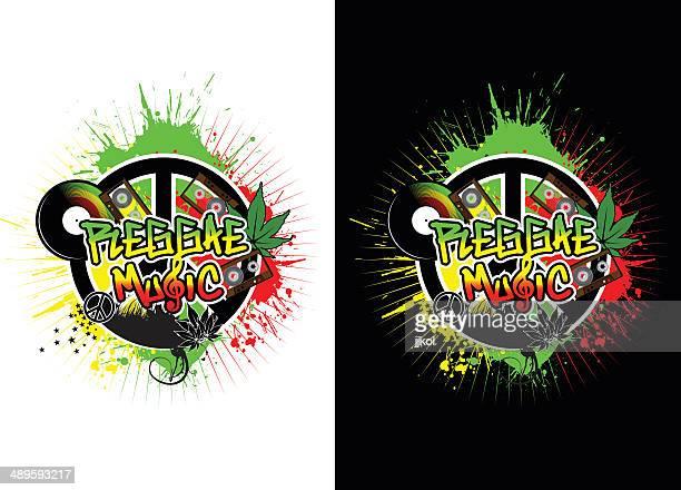 reggae music - rastafarian stock illustrations, clip art, cartoons, & icons