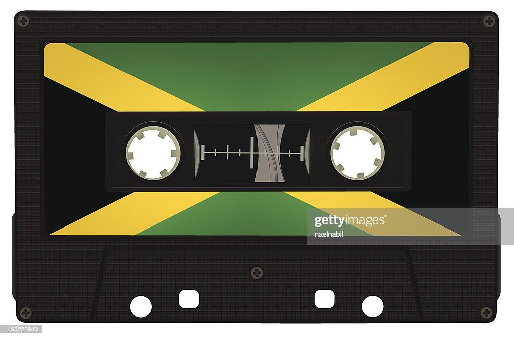 Reggae vintage tape