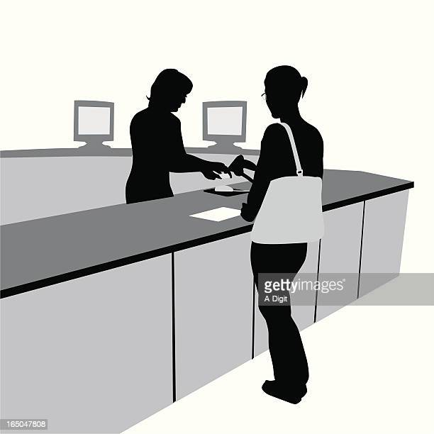 Registration Identification Vector Silhouette