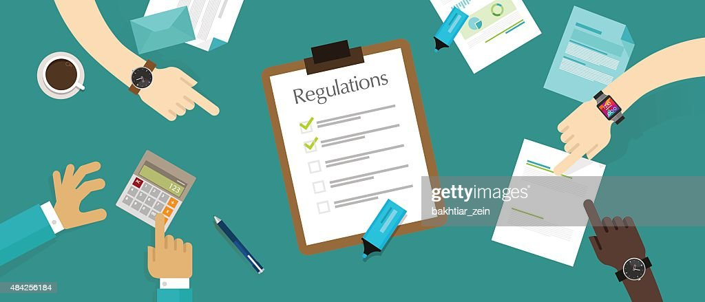 regulation law standard corporation document requirement
