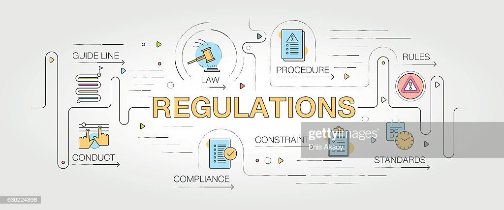 Regulations banner and icons