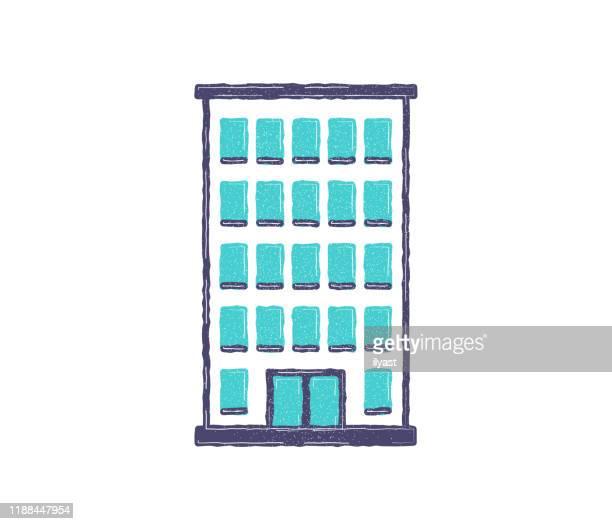 リハブフラット&ラインアイコンデザイン - カイロプラクター点のイラスト素材/クリップアート素材/マンガ素材/アイコン素材