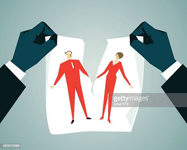 relationship difficulties - refusing stock illustrations, clip art, cartoons, & icons