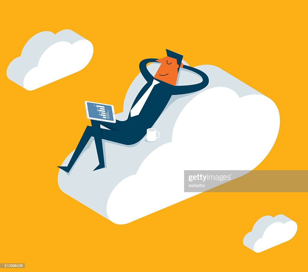Relaxation : stock illustration
