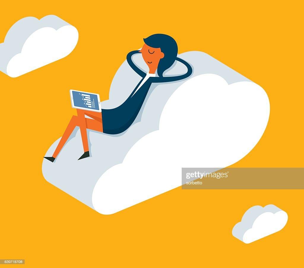 Relaxation : stock illustration