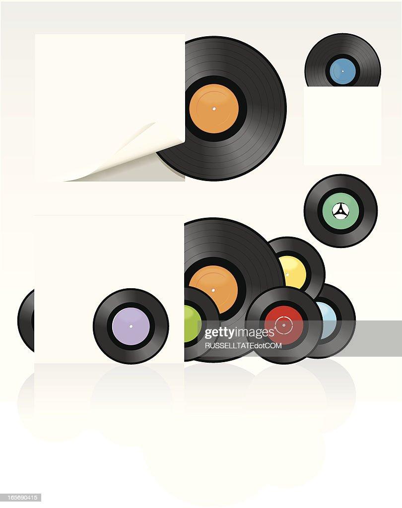 Release the Vinyl! : stock illustration
