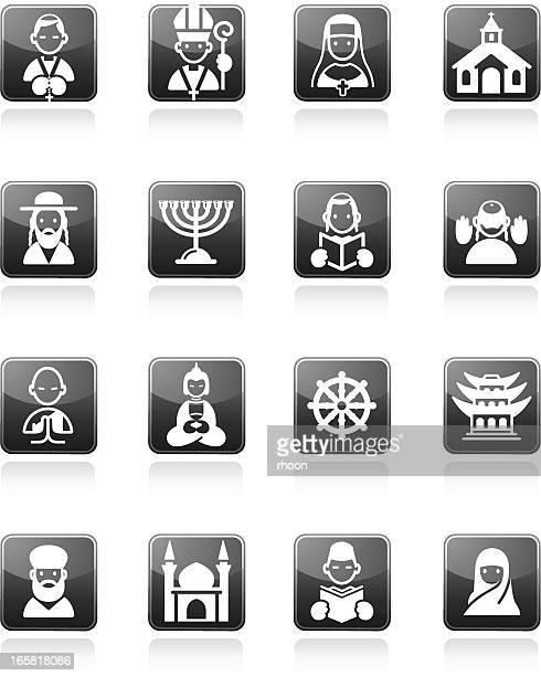religion icons - wailing wall stock illustrations, clip art, cartoons, & icons