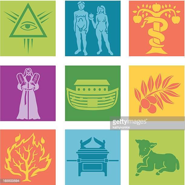 宗教 - ノアの方舟点のイラスト素材/クリップアート素材/マンガ素材/アイコン素材