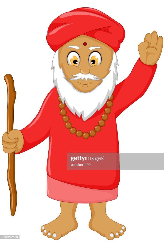 religious leader cartoon for you design