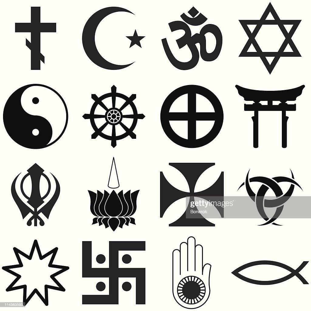 Religious Symbols Vector Art Getty Images