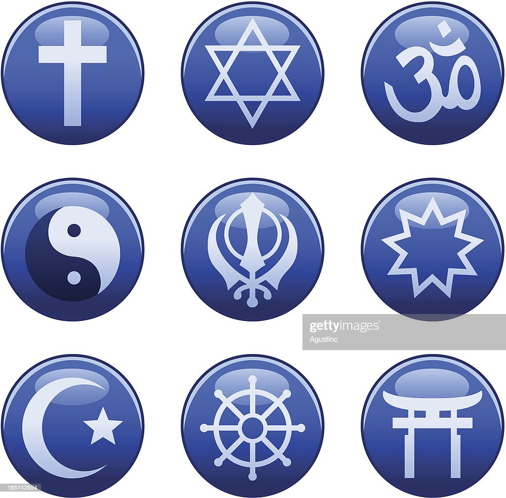 Religious symbols vector art getty images keywords biocorpaavc Image collections
