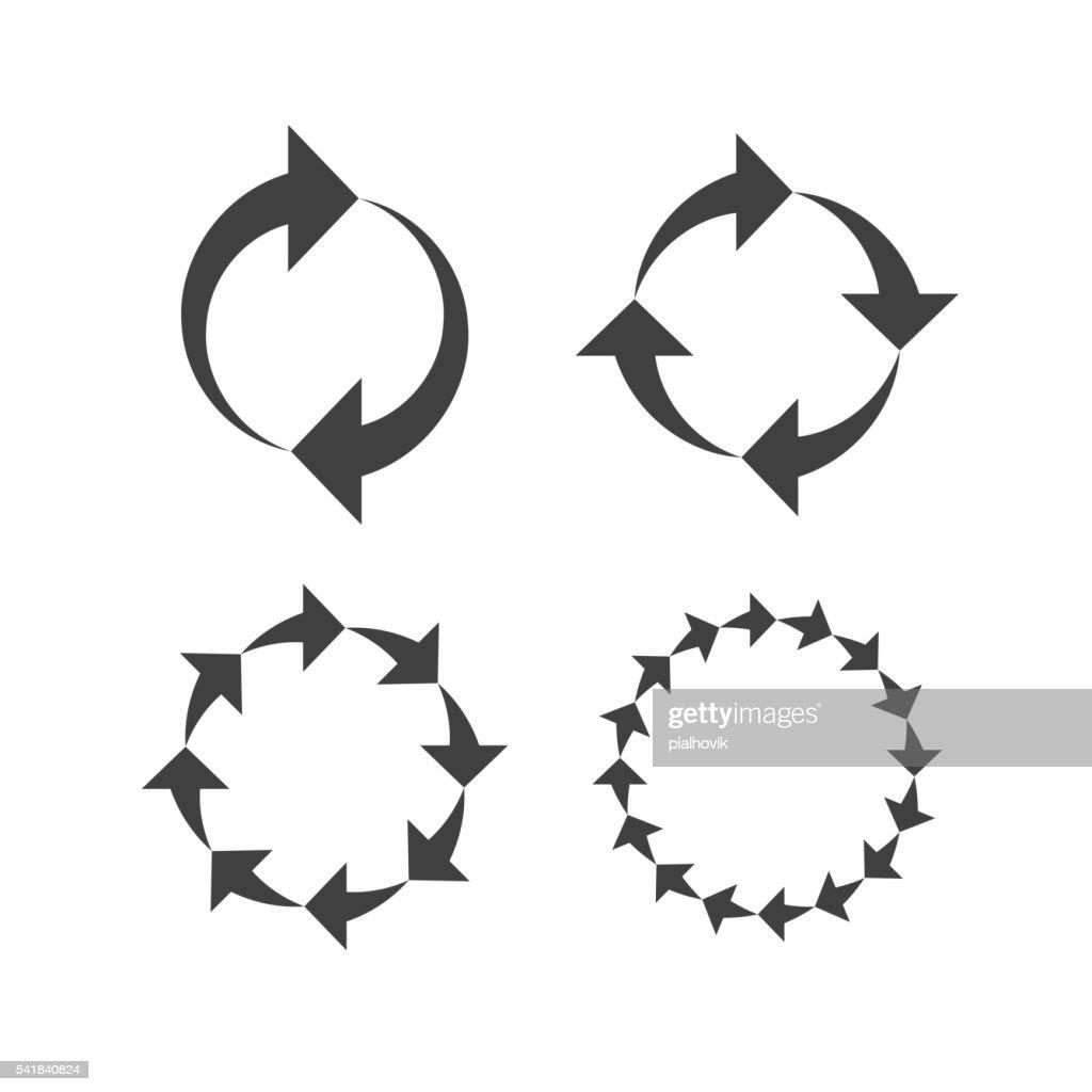 Reload arrows sign
