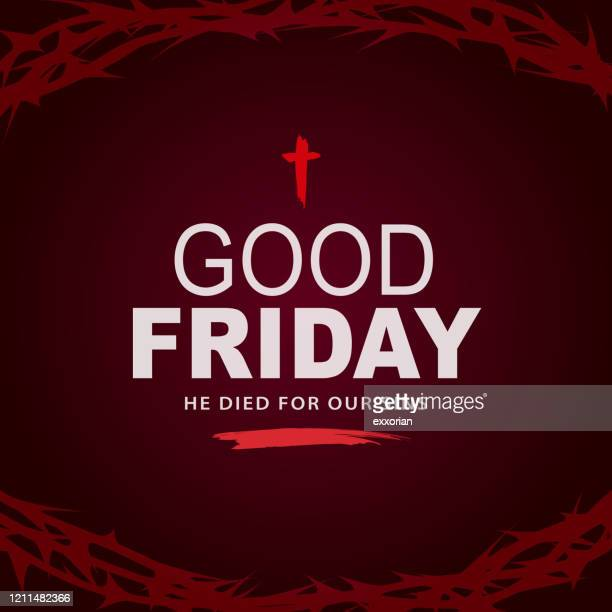 イエスの死を思い出す - 聖週間点のイラスト素材/クリップアート素材/マンガ素材/アイコン素材