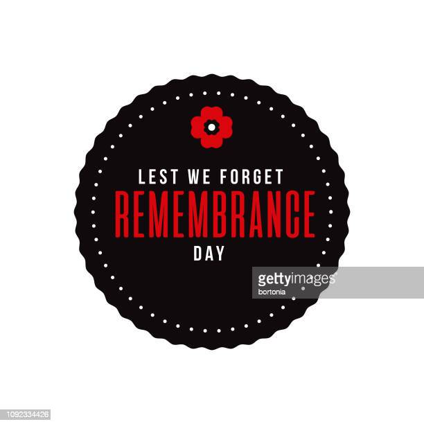 remembrance day - poppy stock illustrations
