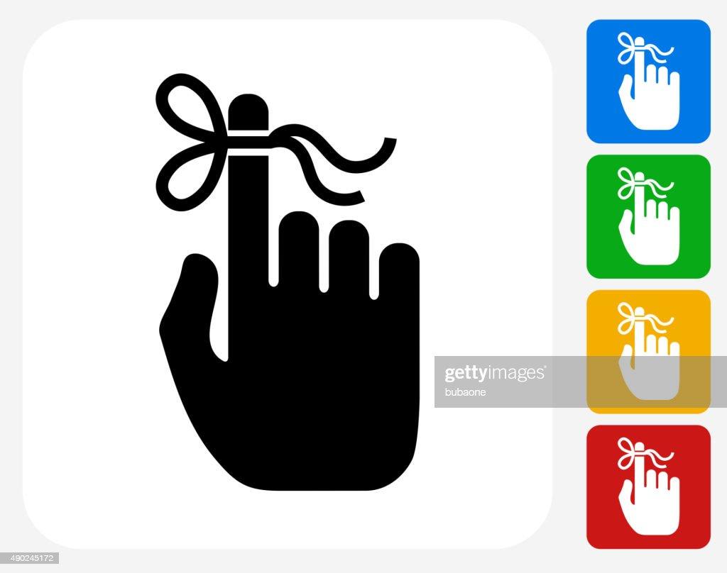 Reminder Icon Flat Graphic Design
