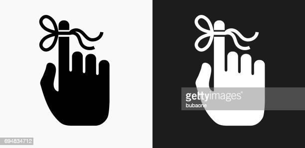 黒と白のベクトルの背景にアラーム アイコン