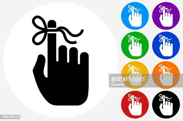 人間の手でアラームの結び目。