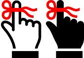 Reminder royalty free vector art Button Set