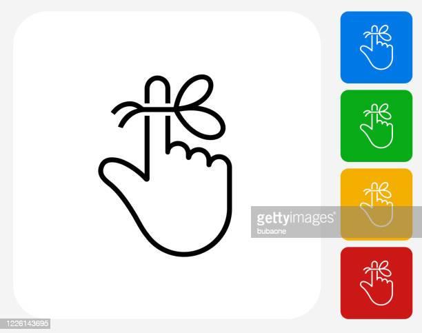 reminder string on finger icon - string stock illustrations