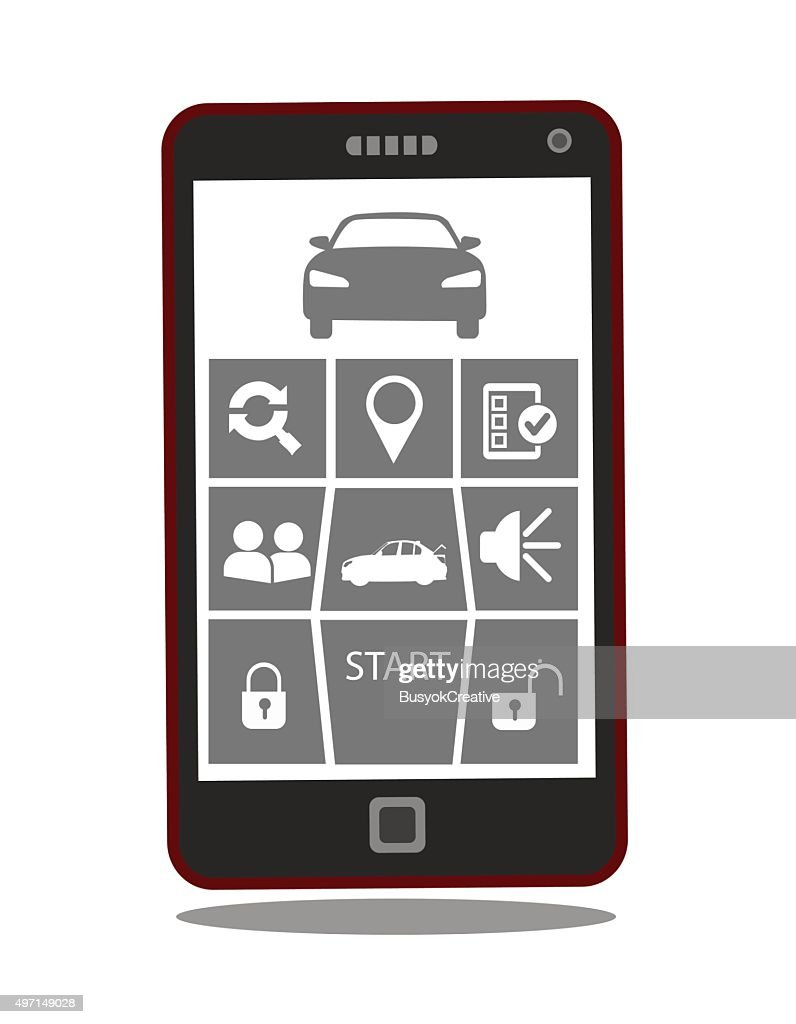Remote car starter control system