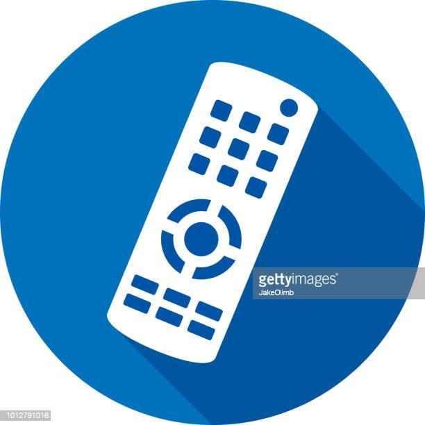 TV Remote icône Silhouette