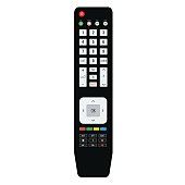 Remote TV Control. Isolated on white background, vector illustration