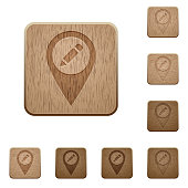 Rename GPS map location wooden buttons