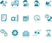 Repair Services Icons | Simple Blue Series