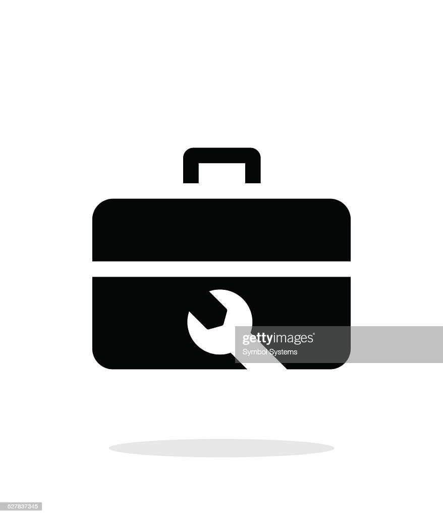 Repair Toolbox icon on white background.
