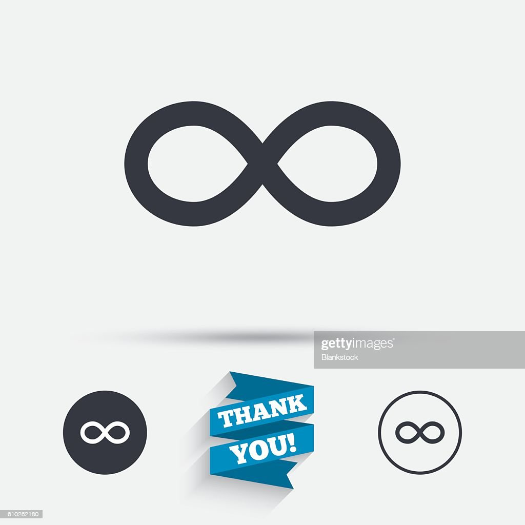 Repeat Icon Loop Symbol Infinity Sign Vector Art Getty Images