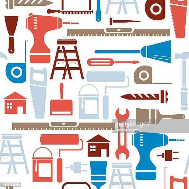 ilustraciones, imágenes clip art, dibujos animados e iconos de stock de bricolaje patrón de repetición - decorar