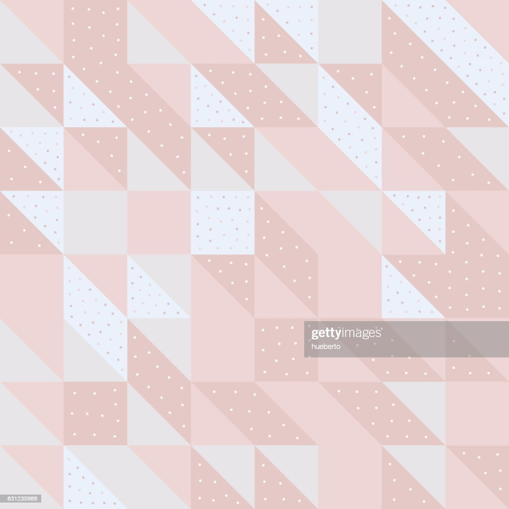 Repeating geometric vector pattern pattern