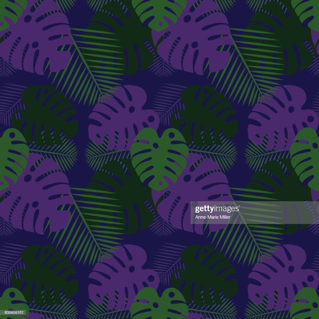 Repeating plant pattern