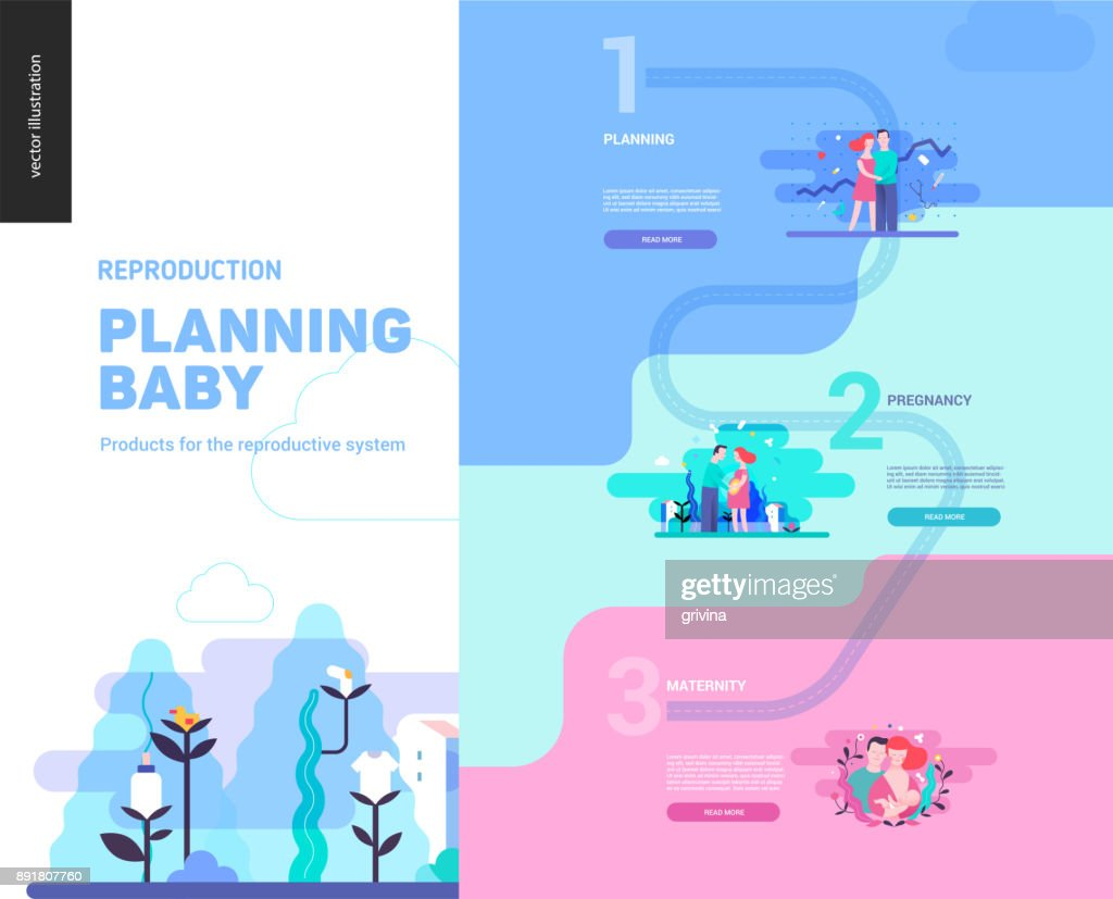 Reproduction - web page template