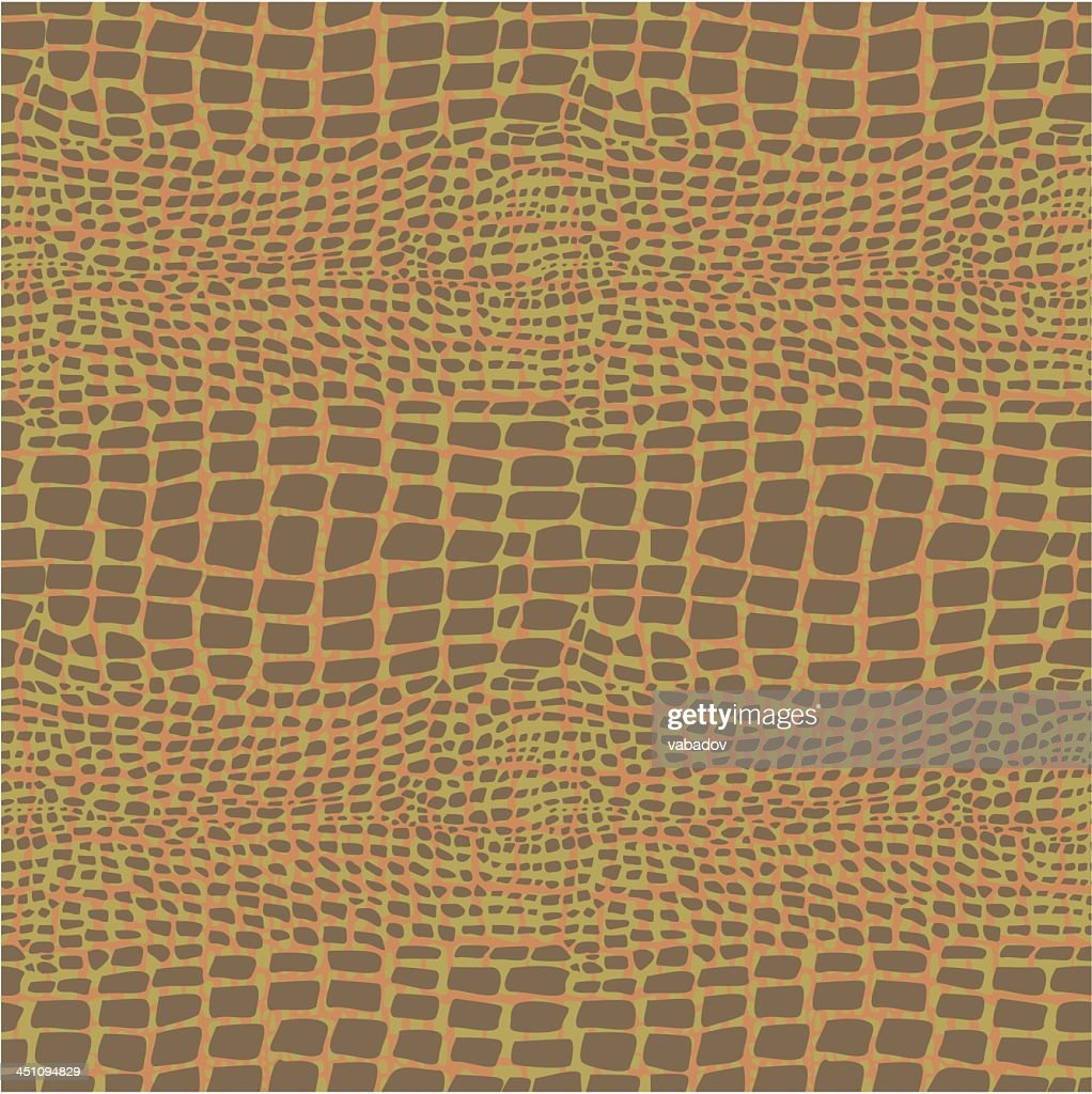 Reptile skin illustrated background