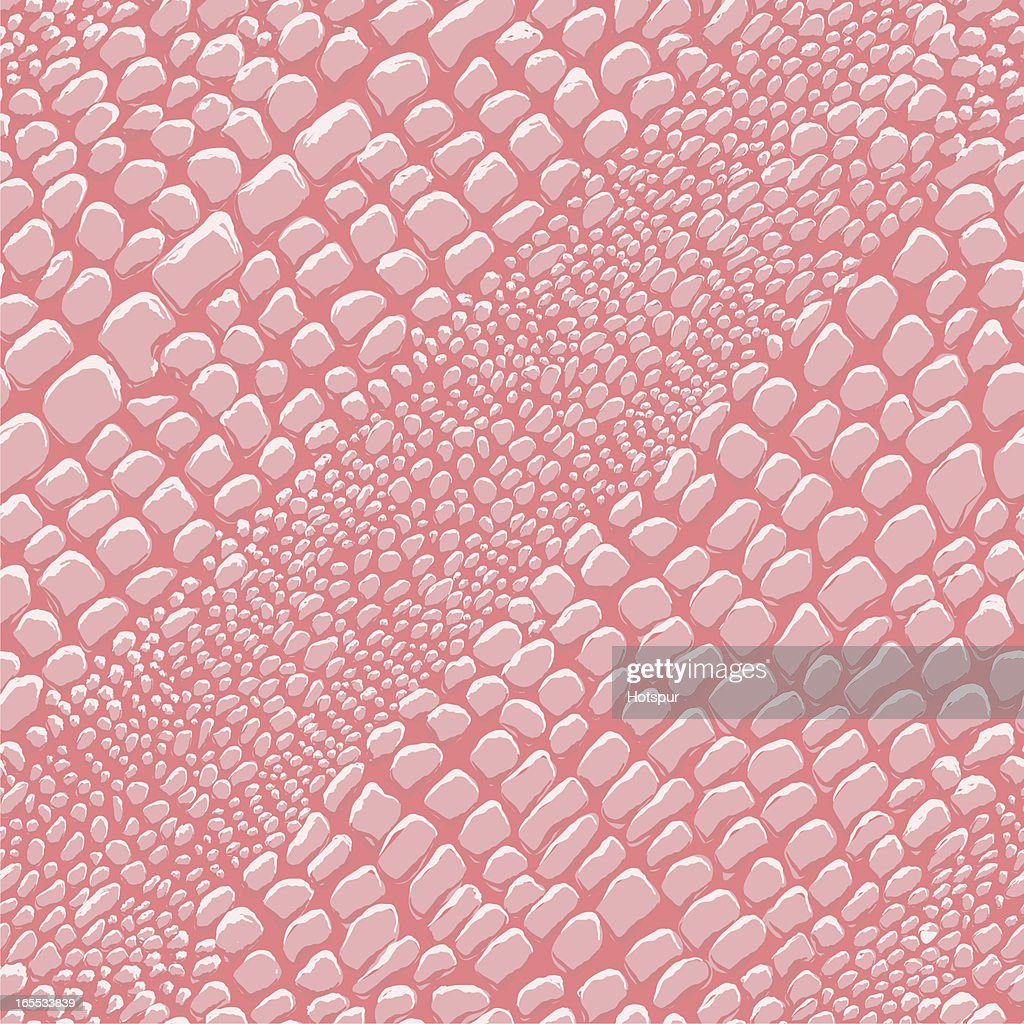 Reptile Skin Pink (seamless tile)