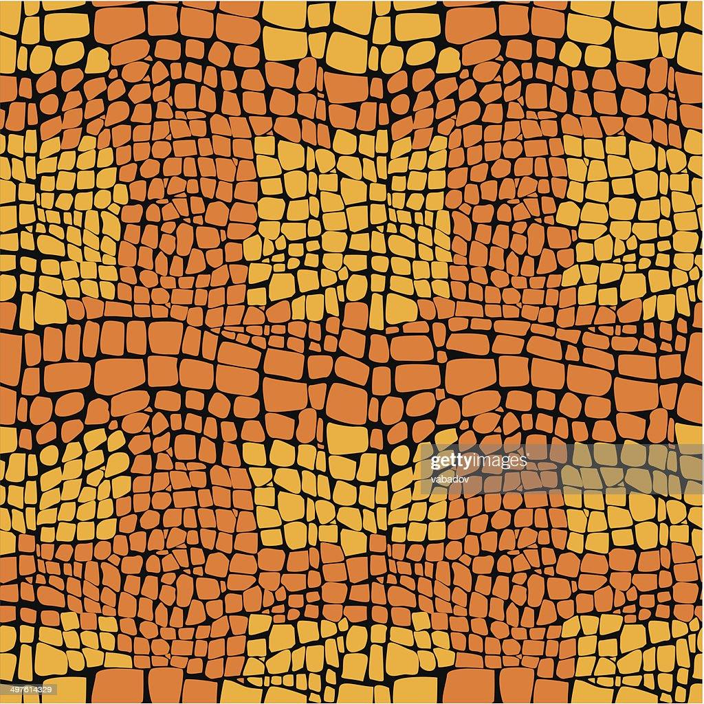 Reptile skin seamless vector pattern