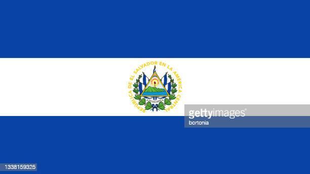 エルサルバドル共和国旗 - エルサルバドル国旗点のイラスト素材/クリップアート素材/マンガ素材/アイコン素材