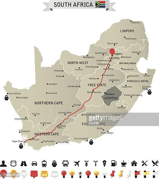 republic of south africa - johannesburg stock illustrations, clip art, cartoons, & icons