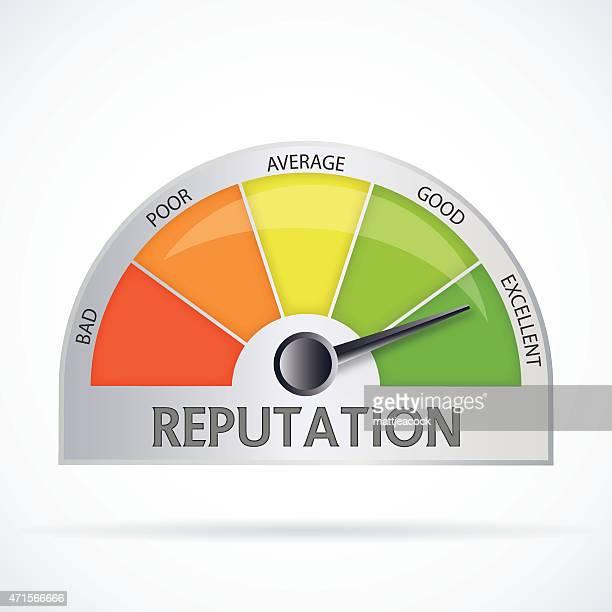 reputation chart - adulation stock illustrations, clip art, cartoons, & icons