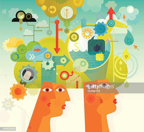 research and development - imagination stock illustrations, clip art, cartoons, & icons