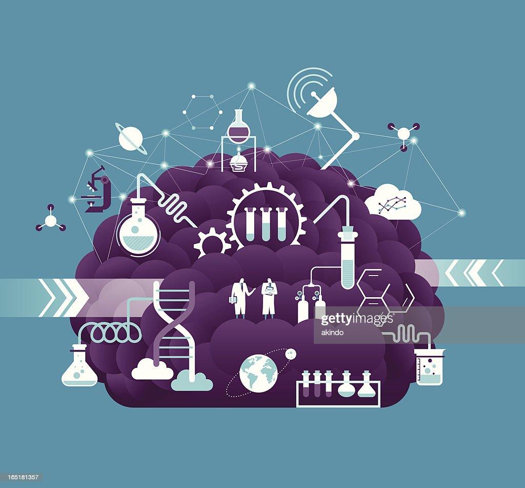 Research & development : Stock Illustration
