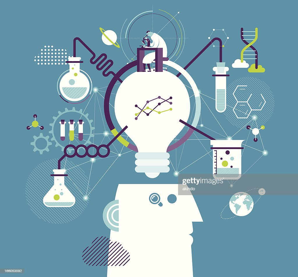 Research & development : stock illustration